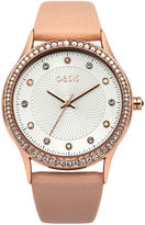 """Oasis Nude PU Strap Watch [span class=""""variation_color_heading""""]- Natural[/span]"""