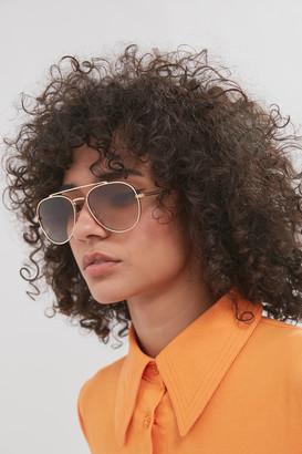 DIFF Eyewear Noa Aviator Sunglasses