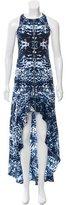 Intermix Abstract Print Silk Dress
