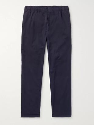 Adsum - Bank Cotton-Twill Trousers - Men - Blue
