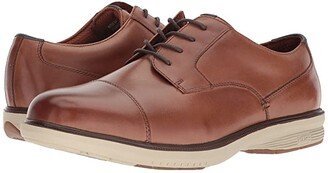 Nunn Bush Melvin Street Cap Toe Oxford with KORE Slip Resistant Walking Comfort Technology