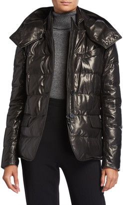 Tom Ford Quilted Leather Puffer Jacket