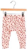 Stella McCartney Girls' Apple Print Jersey Knit Pants