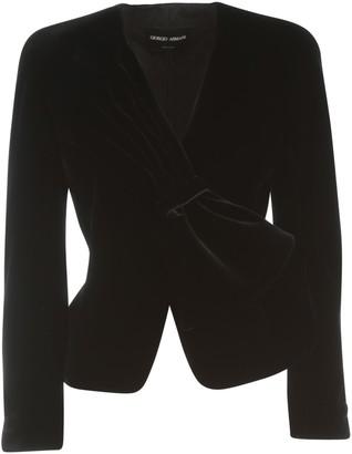 Giorgio Armani Single Breasted With Cufflinks On Wrists Blazer