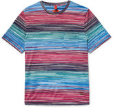 Missoni - Space-dyed Cotton-jersey T-shirt