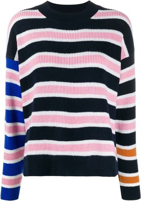 Christian Wijnants stripe long-sleeve jumper
