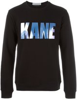 Christopher Kane printed sweatshirt - men - Cotton - S