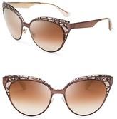 Jimmy Choo Estelle Mirrored Sunglasses, 55mm