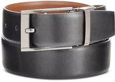 Perry Ellis Men's Big & Tall Reversible Leather Belt
