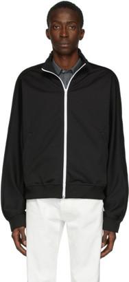Maison Margiela Black Rodier Zip-Up Sweatshirt