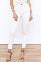 GJG Denim White Skinny Jeans