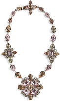 Ralph Lauren Floral Crystal Necklace