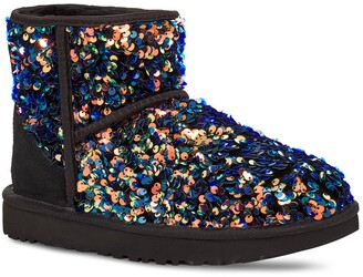 UGG Mini Classic Stellar Sequin Boot