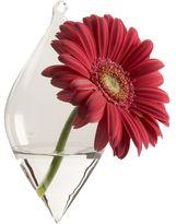 Teardrop diamond hanging vase
