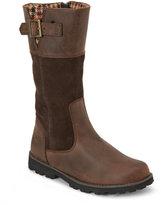 Timberland Kids Girls) Brown Asphalt Trail Maplebrook Tall Boots