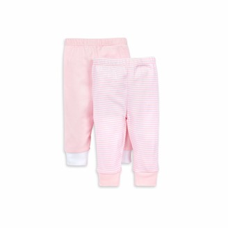 Burt's Bees Baby Unisex Baby Pants of 2 Lightweight Knit Infant Bottoms 100% Organic Cotton and Toddler Layette Set