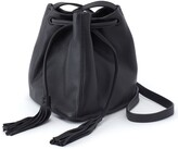 Hobo Sander Leather Crossbody Bucket Bag