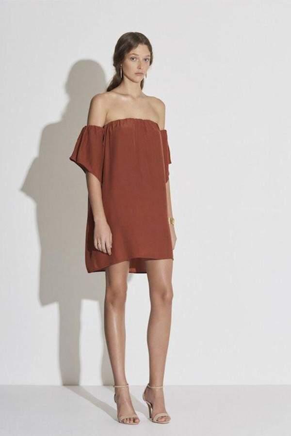 SIR the Label Clo Off Shoulder Dress