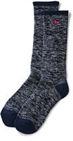 Classic Women's Thermaskin Heat Winter Boot Socks-Black