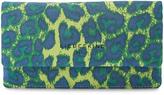 Liebeskind Berlin Green Slam Leopard Leather Wallet