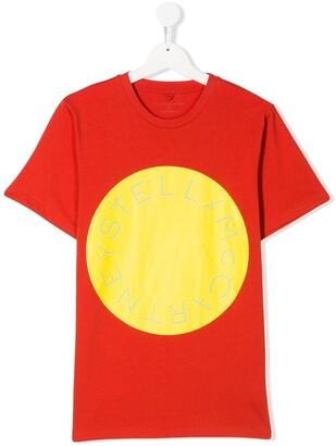Stella Mccartney Kids logo print T-shirt