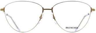 Balenciaga Eyewear Cat Eye Frame Glasses