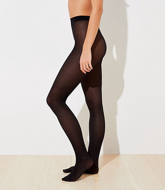 LOFT Shimmer Ribbed Tights