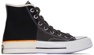 Converse Black Reconstructed Chuck 70 High Sneakers