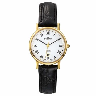 Dugena Classic Ladies Watch Quartz Watch with Leather Strap 4460366