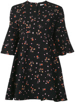 Carven floral print dress - women - Silk/Polyester/Acetate - 38