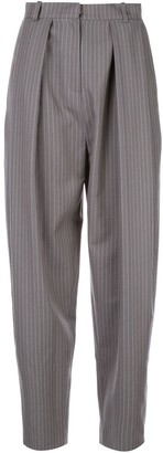 Magda Butrym Pinstripe Tailored Trousers