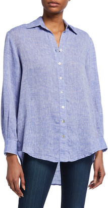 Finley Monica Oversized Washed Linen Shirt