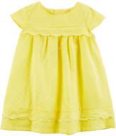 Carter's Short Sleeve Trapeze Dress - Baby Girls