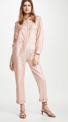Kondi Metallic Jumpsuit