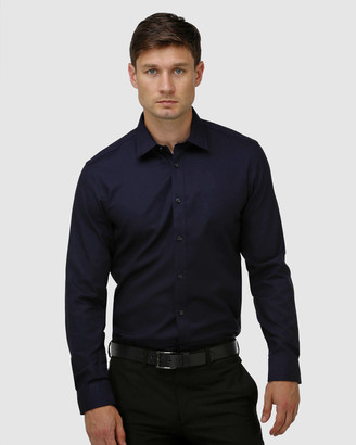 Brooksfield Staple Textured Business Shirt