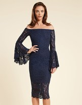 Bardot Solange Lace Midi Dress