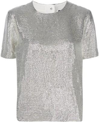 Rag & Bone metallic-print T-shirt