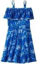 Girls 7-16 SO® Off Shoulder Drawstring Knit Dress