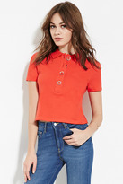 Forever 21 Oversized-Button Polo