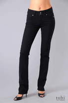 Paige Premium Denim Hidden Hills Skinny Jeans in Black Overdye