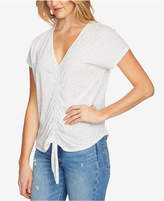 1 STATE 1.STATE Speckled Ruched Top