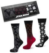 Cufflinks Inc. Cufflinks, Inc. 'Star Wars' The Dark Side 3-Pack Socks