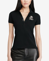Polo Ralph Lauren Patched Mesh Polo