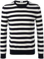 Saint Laurent Grunge crew neck sweater - men - Cashmere/Wool - XS