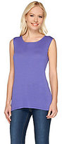 As Is Attitudes by Renee Sleeveless Scoop Neck Tank