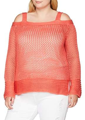 Simply Be Women's Cold Shoulder Jumper,(Size: 32/)
