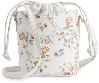Lauren Conrad Drawstring Bucket Bag