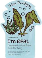 Tony Moly I'm Real skin purifying seaweed face mask