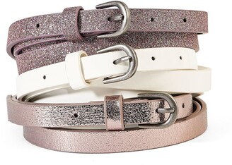 La Redoute Collections Pack of 3 Belts