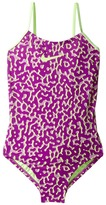 Nike Glow V-Back Tank Girl's Swimsuits One Piece